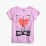 J.Crew Girls' Eiffel Tower heart T-shirt