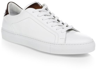 To Boot Leather Low-Top Sneakers