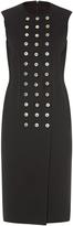 Balenciaga Rivet-detail sleeveless dress