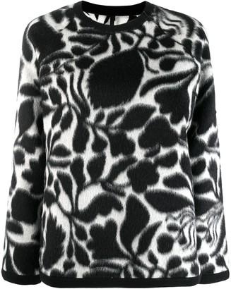 Sara Lanzi floral print jumper