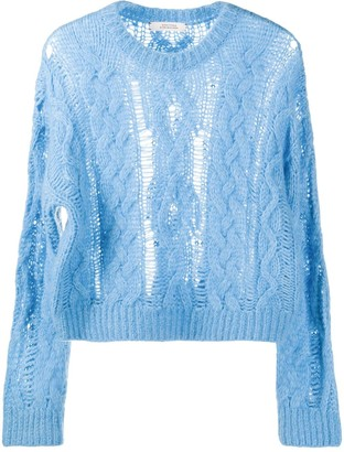 Dorothee Schumacher Cable Knit Jumper