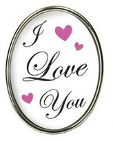 Tarina Tarantino Jewelry I Love You Cameo Ring Small