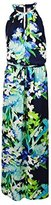 Vince Camuto Women's Halter Printed Maxi Dress