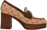 Gucci GG Platform Block Heel Loafers