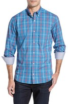 Tailorbyrd Men's Big & Tall Ashland Windowpane Check Sport Shirt