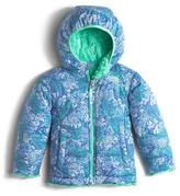 The North Face Reversible Mossbud Swirl Hooded Jacket, Size 3-24 Months