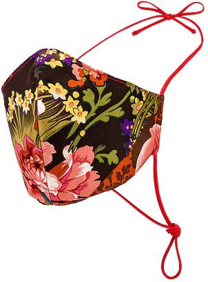 GRLFRND Silk Floral Mask