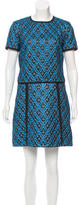 Burberry Fall 2016 Metallic Dress