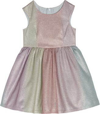 Pippa & Julie Rainbow Shimmer Party Dress