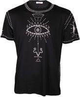 Valentino Embellished Symbols T-shirt