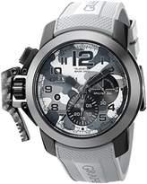 Graham Men's 2CCAU.S02A.K97N Chronofighter Analog Display Swiss Automatic Grey Watch