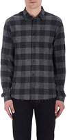IRO Men's Calfo Plaid Cotton Flannel Shirt
