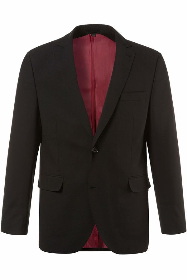 JP 1880 Men's Big & Tall Easy Care Stretch Suit Jacket Black 64 705512 10-64