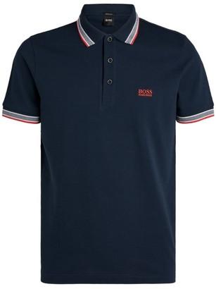 BOSS Cotton Pique Polo Shirt