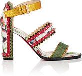 Christian Louboutin Women's Montezumina Triple-Strap Sandals