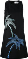 Victoria Beckham palm tree dress - women - Silk/Cotton - 8