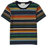 Paul Smith Multi-Colour Stripe Short Sleeve T-Shirt
