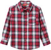 Joe Fresh Toddler Boys' Essential Flannel Shirt, Red (Size 5)