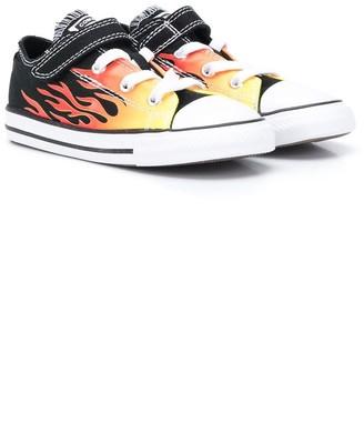 Converse Flame-Print Sneakers