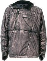 Stone Island metallic (Grey) pull-over jacket
