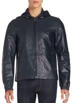 Michael Kors Nappa Long Sleeve Hooded Jacket