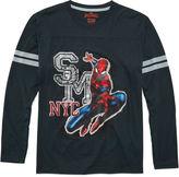 Marvel Boys Spiderman Graphic T-Shirt-Big Kid