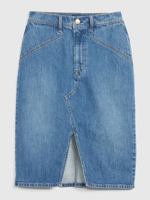 Gap Denim Pencil Skirt