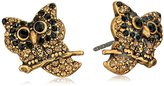 "Marc Jacobs Fall 2016"" Owl Stud Earrings"