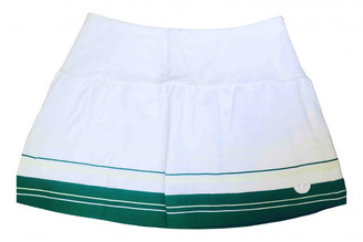 adidas White Cotton - elasthane Skirts