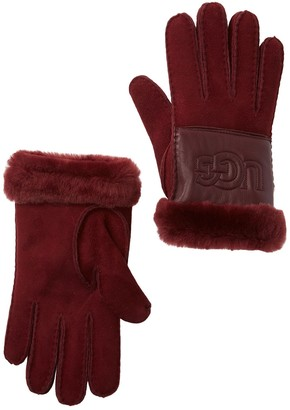 UGG Genuine Shearling Sheepskin Leather Gloves