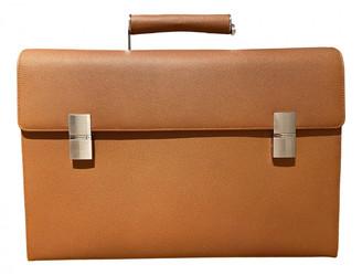 Porsche Design Brown Leather Bags