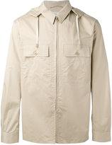 Lemaire hooded jacket - men - Cotton/Spandex/Elastane - 48