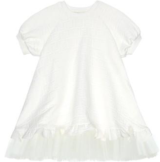 Fendi FF jacquard dress
