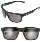 BOSS Men's '0800/s' 58Mm Polarized Sunglasses - Soft Black