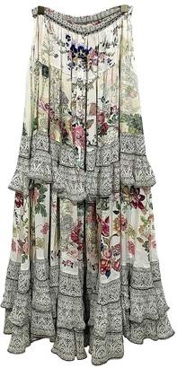 Camilla Multicolour Silk Skirt for Women