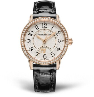 Jaeger-LeCoultre Rose Gold and Diamond Rendez-Vous Night & Day Watch 29mm