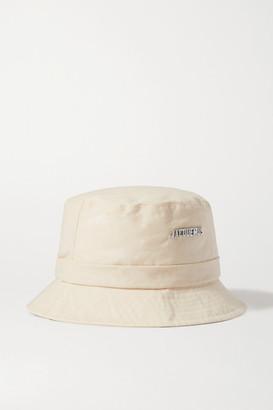 Jacquemus Le Bob Gadjo Cotton-canvas Bucket Hat