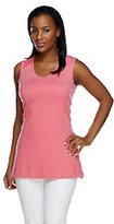 Liz Claiborne New York Essentials Sleeveless Knit Tunic