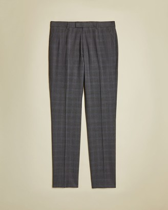 Ted Baker Sterling Wool Checked Trousers