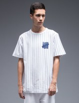 Undefeated Pinstripe Crewneck T-Shirt