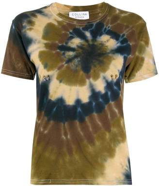Collina Strada short sleeved tie-dye T-shirt