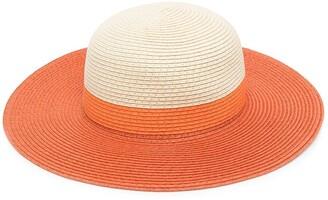 Molo Kids Two-Tone Wide-Brim Hat