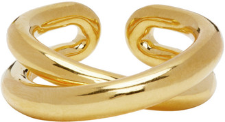 Charlotte Chesnais Gold Initial Ring