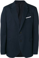 Neil Barrett chest pocket blazer - men - Cotton/Polyester/Viscose - 50
