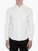 Edwin White Cotton Shirt