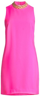 Lilly Pulitzer Brandi Embellished Neck Shift Dress