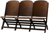 Rejuvenation Three-Seat Folding Bench c1930s