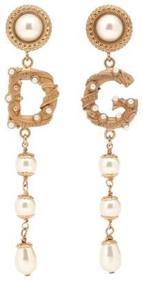Dolce & Gabbana Clip-on drop earrings
