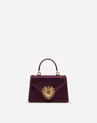 Dolce & Gabbana Small Satin Devotion Bag