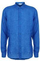 Orlebar Brown Morton Classic Fit Linen Shirt
